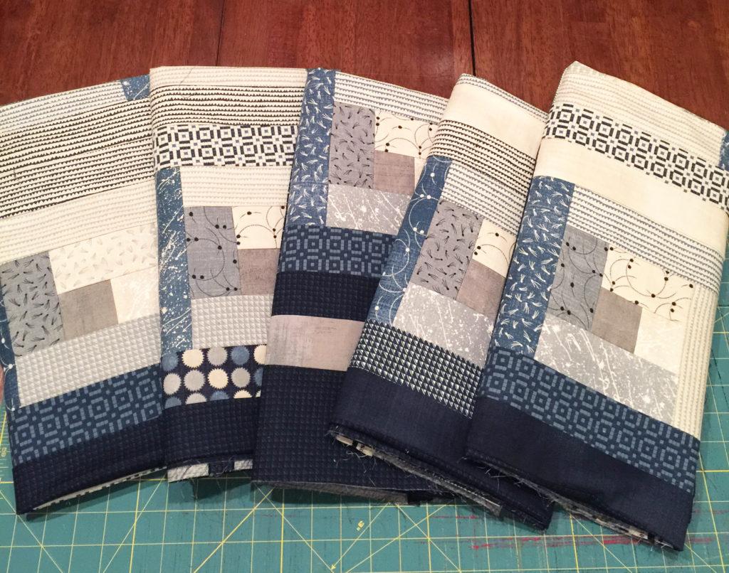 A Quick History of The Log Cabin Quilt - Quilt 2 End ALZ